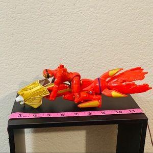 Power Ranger Dragon Lion Head W/Figure